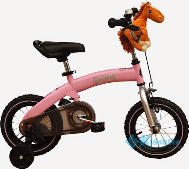 Xe đạp trẻ em Royal Baby Pony hồng
