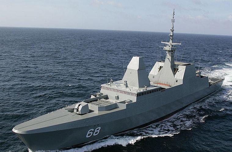 Chiêm ngưỡng chiến hạm hiện đại nhất Đông Nam Á của Singapore