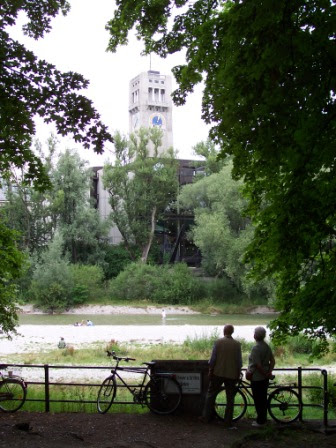 Bikes by the Isar