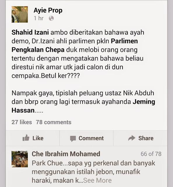 Kaki Fitnah Pemimpin PAS Kelantan