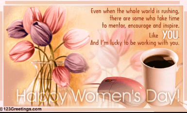 Happy International Women's Day - 2