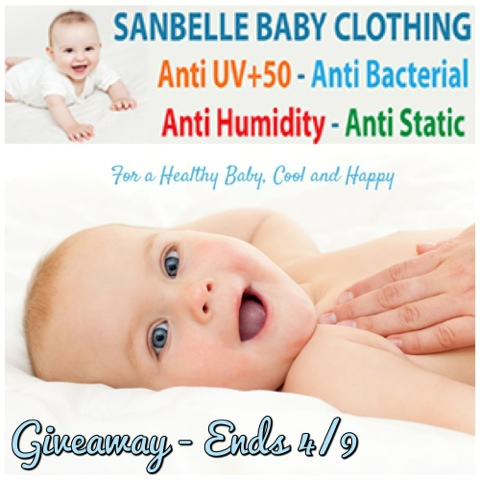SanBelle Baby Clothes Review Giveaway