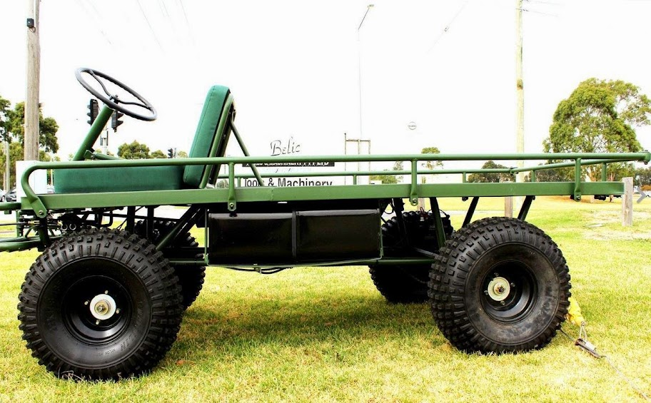 150cc Farm UTV Flat Bed Agricultural Utility Vehicle Transport Buggy