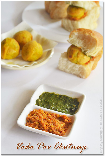 Vada Pav Chutneys Recipe