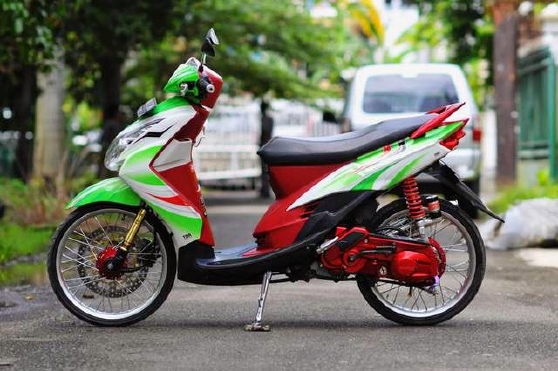 Modifikasi Mio Fino Sporty