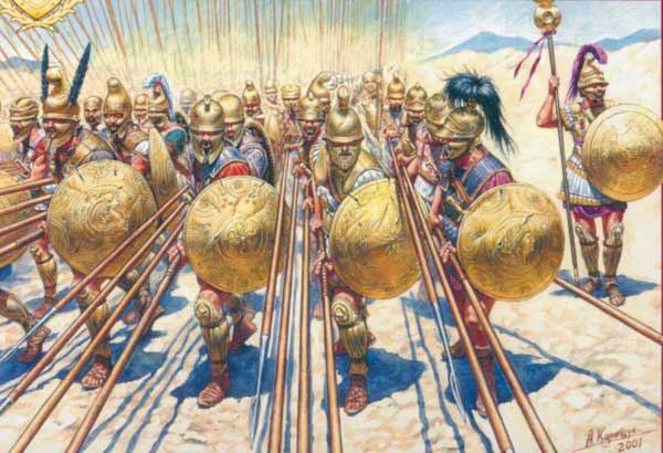 Formación de Hoplitas