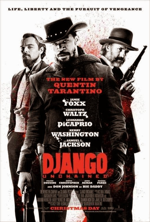 Poster Of Django Unchained (2012) Full Movie Hindi Dubbed Free Download Watch Online At Alldownloads4u.Com
