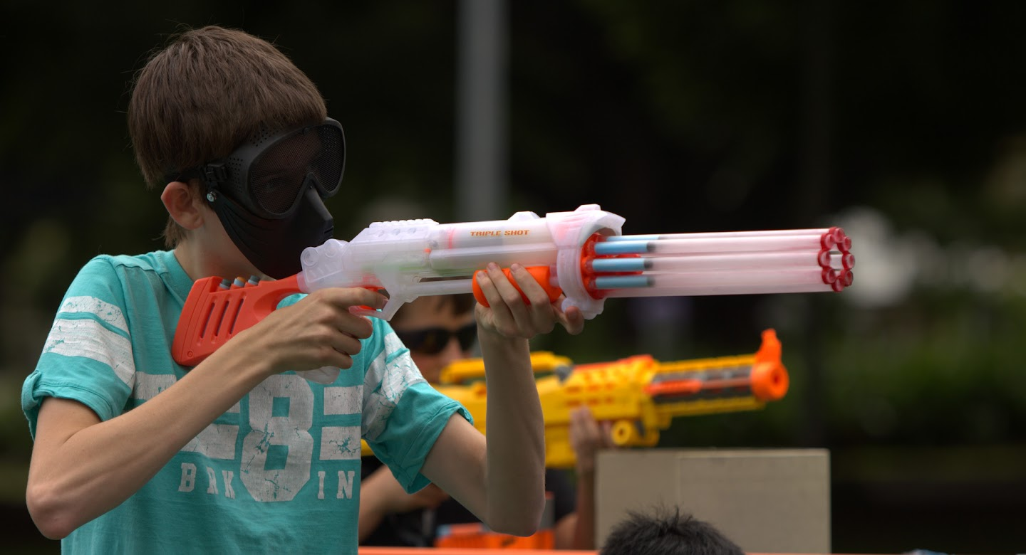 Kelvin Grove war pictures: December 18th   Picture heavy... Nerf%2Bwar%2B381