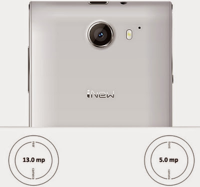 Camera of iNew V3 plus smartphone