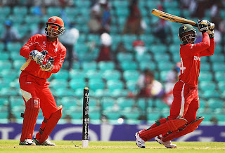Tatenda Taibu top scored with 98, Canada v Zimbabwe, World Cup, Group A, Nagpur, February 28, 2011