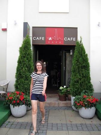 wejście do vanilla cafe
