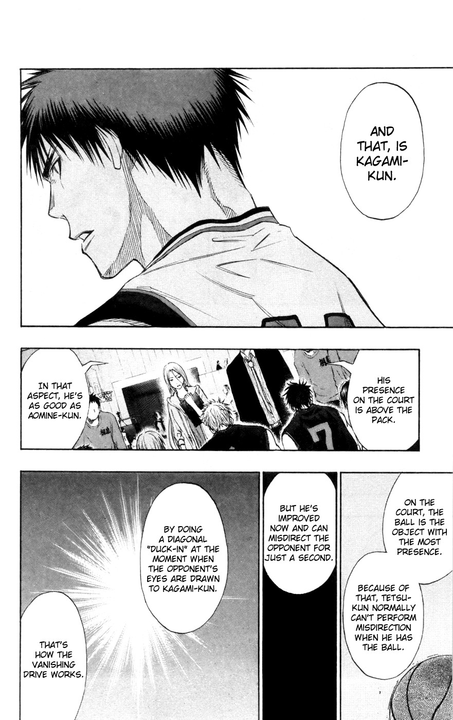 Kuroko no Basket Manga Chapter 119 - Image 4_032