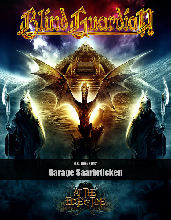 Blind Guardian - At the Edge of Time Tour 2012
