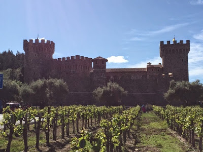 13th century castle in Napa