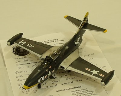 Grumman F9F Panther model