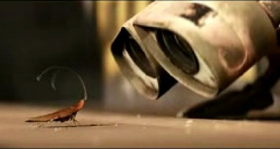 Wall E和蟑螂
