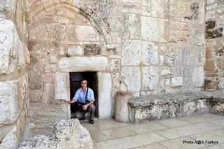 Храм Рождества Христова. Судные врата. Экскурсия в Иерусалим и Вифлеем. Гид в Израиле Светлана Фиалкова.