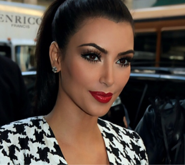 Make Up By Kirsty Tutorial Kim Kardashian Inspired Red Lips And