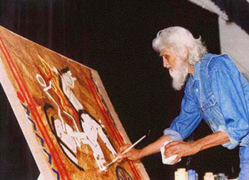 Deceased Maqbool Fida Husain