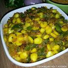 Makai mirchi-Bellpepper corn