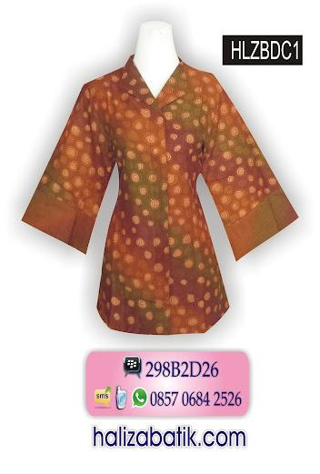 grosir batik pekalongan, Baju Blus Wanita, Model Baju Batik, Blus Batik
