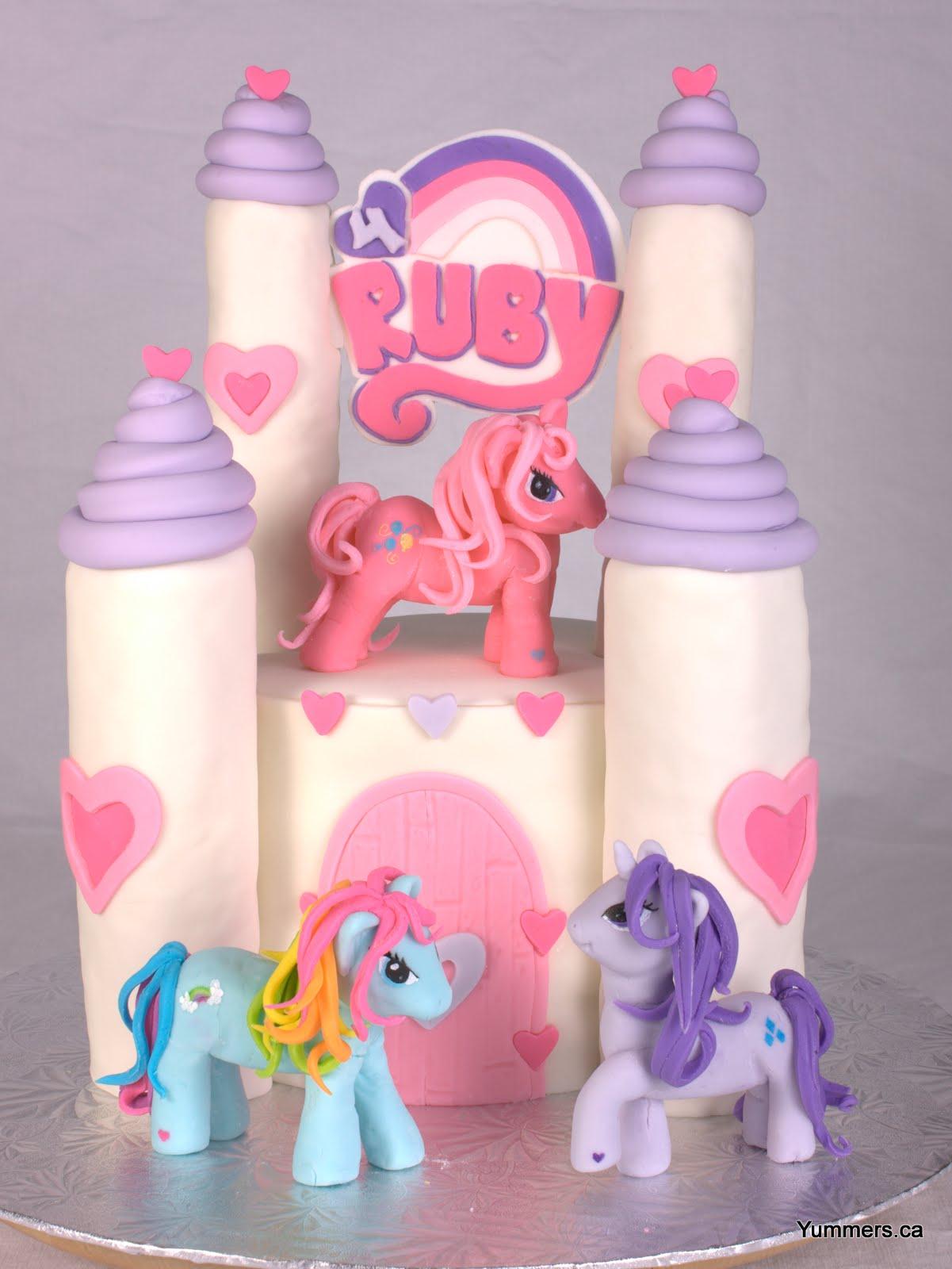 my little pony rainbow castle instructions