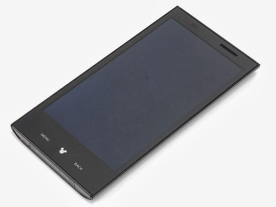 điện thoại nhật P-05D Panasonic P-05D 2ND đen