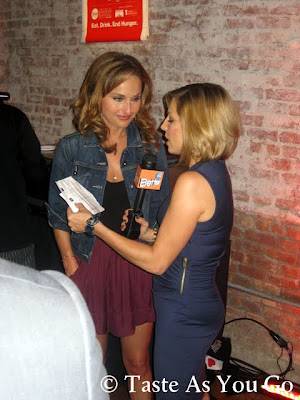 Giada De Laurentiis Shows Off Her Legs at Meatball Madness at the Food Network New York City Wine & Food Festival - Photo by Taste As You Go