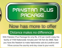 Ptcl Pakistan Plus Package Revised