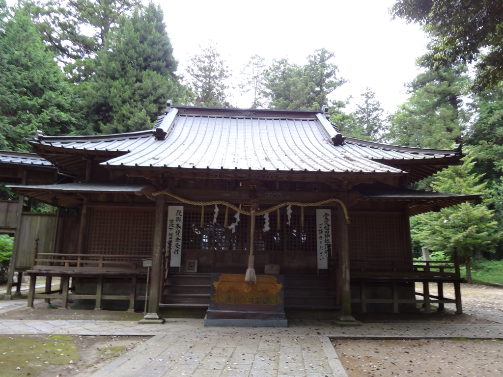 いざ、神社!!: 稻田神社(笠間市)
