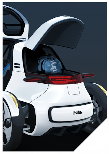 Volkswagen NILS, concept cars, electric cars, Electric F1 NILS, cars, automotive, NILS pictures,