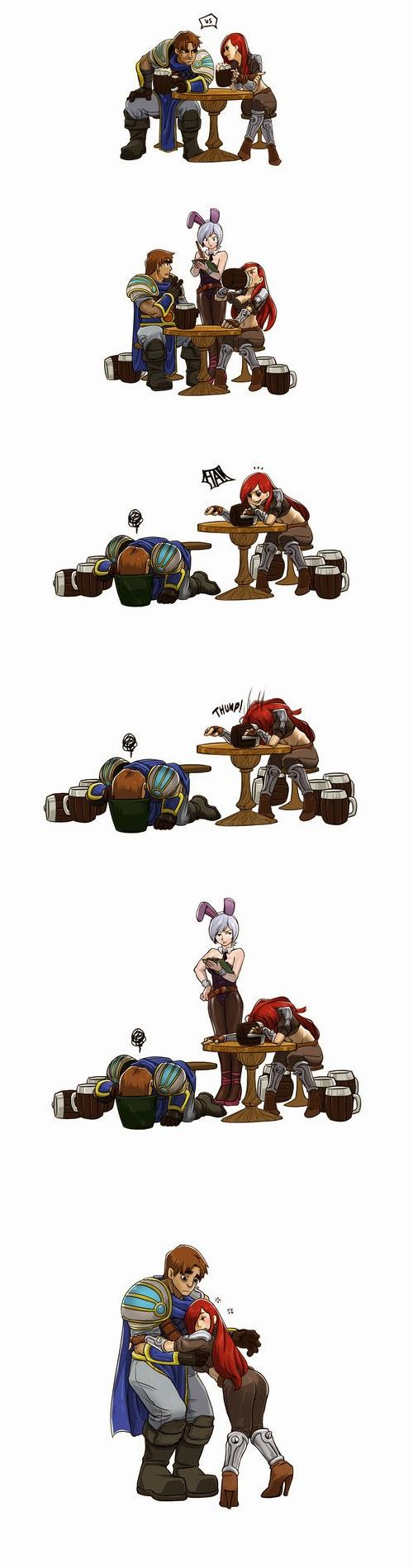 Comic Liên Minh Huyền Thoại: Thi uống rượu - Ảnh 2