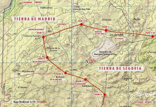 Mapa del territorio