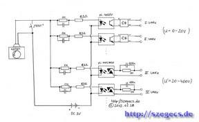 Vakuszinkron - kapcsolási rajz