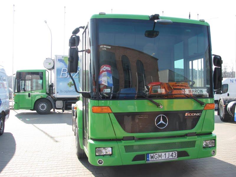 IX Supertest Ekonomii 2012 - Mercedes Econic NGT (CNG)