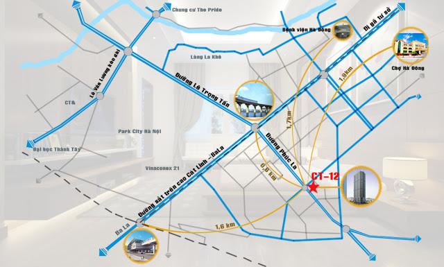 chung cư CT12 Văn Phú - Hà Đông