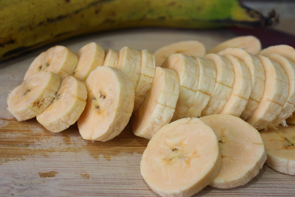 Healthy Baked Plantains