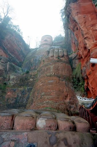 Big buddha de Leshan