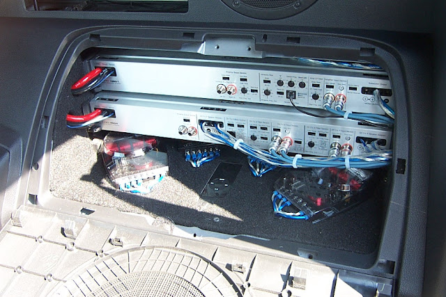 350z Car Audio Install By Nick Sterrhhonda208: Bose Car Audio Amplifier At Taesk.com
