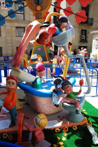 Hoguera Infantil 2013 Hoguera Monjas Santa Faz