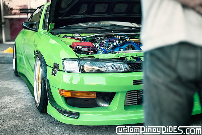 Mean Green Nissan S14 Silvia Custom Pinoy Rides Car Photography Philippines Philip Aragones THE aSTIG pic7