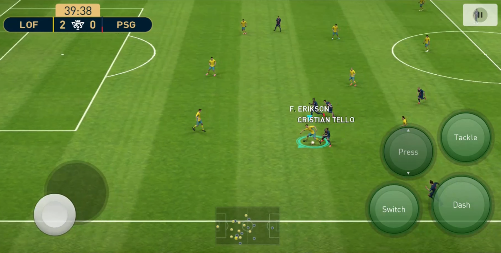 PES 2019 Mobile V3.2.1 Android Offline New Patch Transfers Update + New Kits Best Graphics