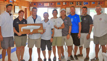 J/30 winning sailing team- Blue Meanie
