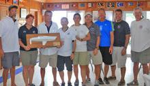 J/30 winning sailing team- Blue Meanie