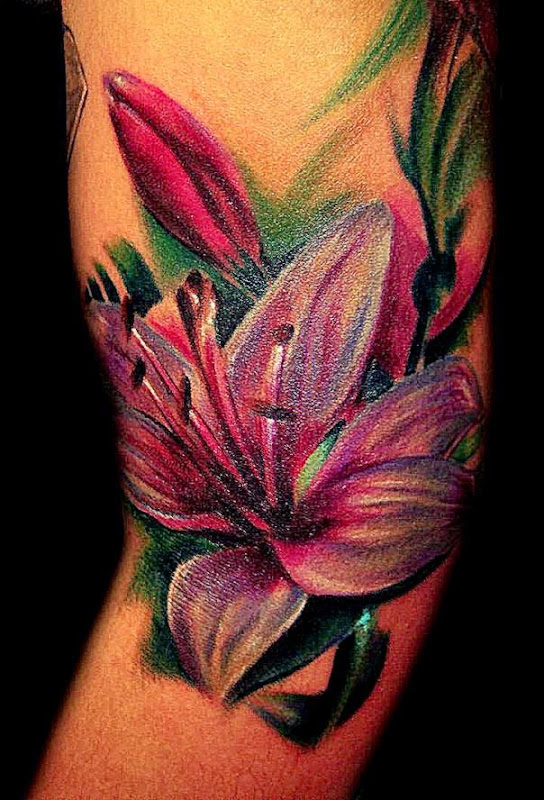 vibrant flower tattoo wallpaper best free hd wallpaper. Black Bedroom Furniture Sets. Home Design Ideas