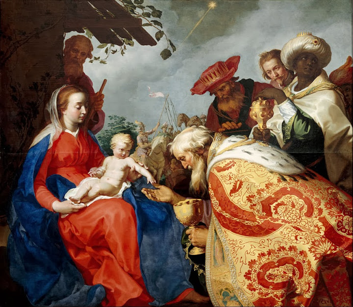 Abraham Bloemaert - The adoration of the Magi - Google Art Project