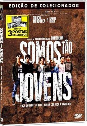 Filme Poster Somos Tão Jovens DVDRip XviD & RMVB Nacional