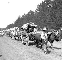 santa fe trail wagon train