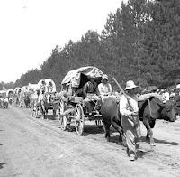 santa fe trail wagon train
