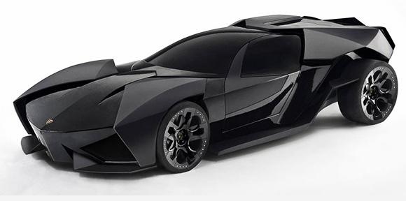 New Batmobil, A Lamborghini?